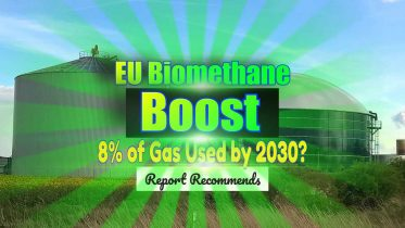 """Featured Image text: """"EU Biomethane Boost to Gas Use""""."""