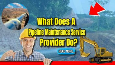 "Featured image text: ""What does a pipeline maintenance service contractor do?"""