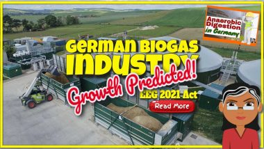 "Featured image text: ""Anaerobic digestion in Germany""."