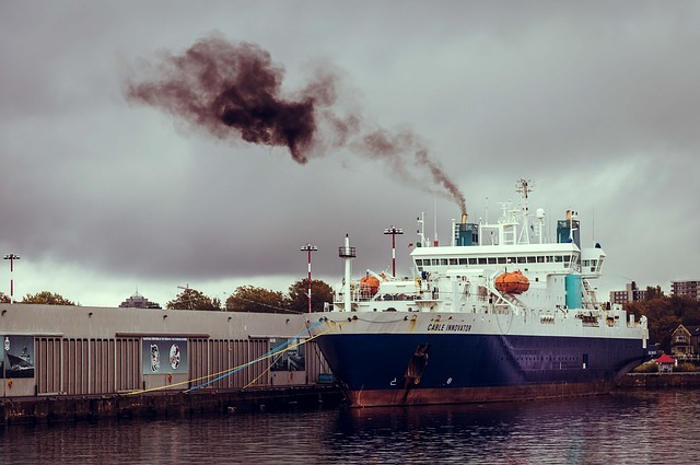 The use of Biogas Engines will reduce the emissions from the poor quality high-sulphur oil used to power ships.