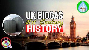 """Image text: """"UK Biogas 21st Century History""""."""