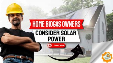 home biogas owners consider building solar home-1