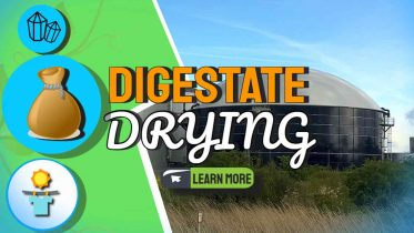 """Image text: """"Digestate drying"""""""