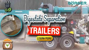 """Image text: """"Digestate separation trailers""""."""
