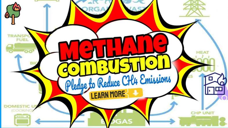 Methane Combustion Pledge to Reduce CH4 Emissions