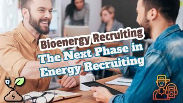 """Image text: """"bioenergy recruiting the next phase in energy recruiting""""."""